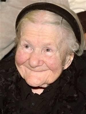 Ирена Сендлер в 98 лет
